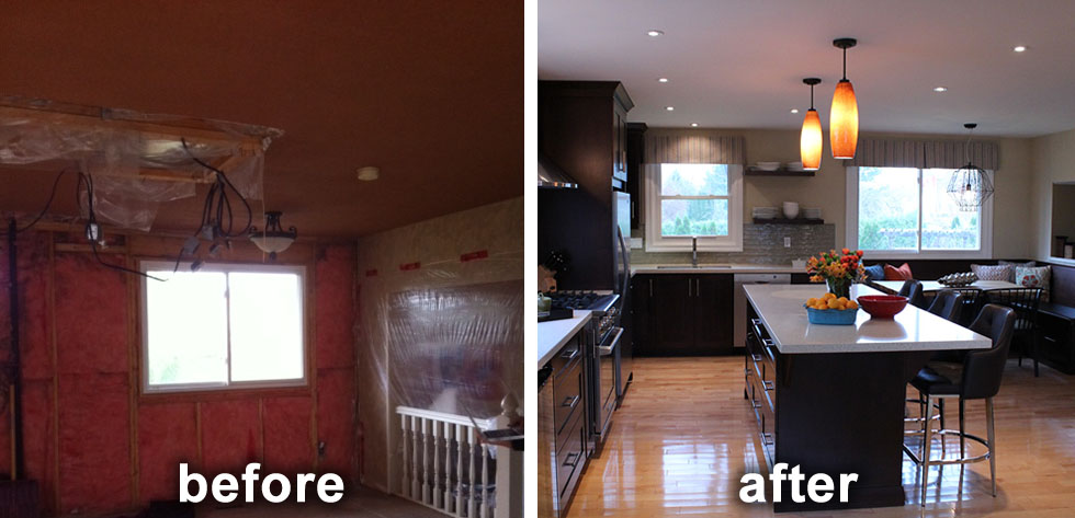 The Formal Dining Room Was Removed And Replaced By A Built In